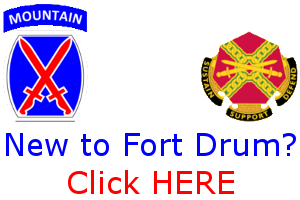 New To Fort Drum Logo
