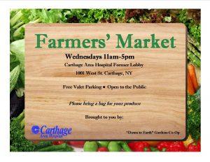 Farmer's Market Flyer 2016