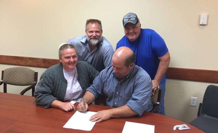 Farn to Table Contract Signing