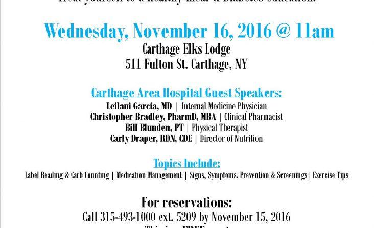 diabetes-education-event-flyer-nov-2016
