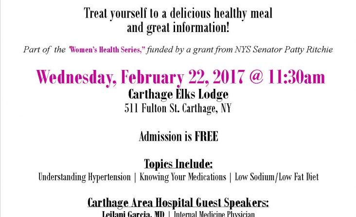 Heart Luncheon Flyer 2017 - Redesign