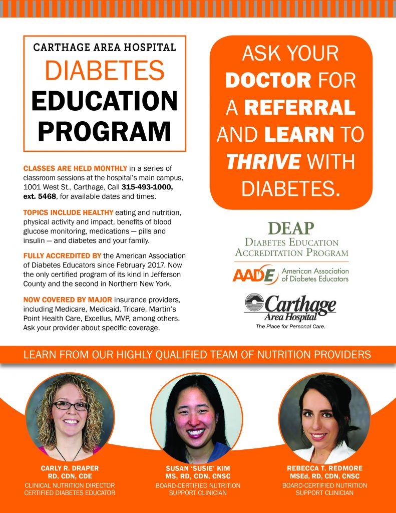 diabetes education As the first diabetes education program in new york state accredited by the american diabetes association, nyu winthrop-university's diabetes education center offers knowledge, skills and tools to individuals and their families living with the challenges of diabetes.